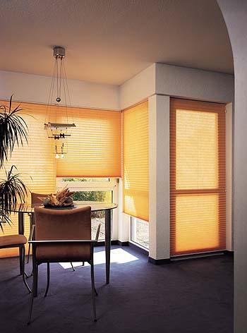 plissee vorhaenge. Black Bedroom Furniture Sets. Home Design Ideas